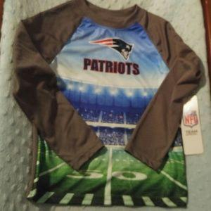 New England Patriots stadium long sleeve shirt
